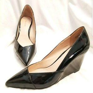 Pour la Victoire wedge heels 6.5 M Minna black